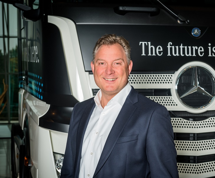 Eric Brok Nieuwe Directeur Mercedes Benz Trucks Automotive Online